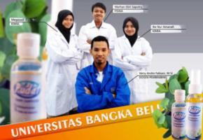 Hand Sanitizer PUDAT Karya Inovasi Mahasiswa UBB