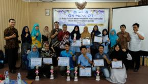 Jurusan Kimia Borong Juara Di Bidang Kimia pada ON-MIPA Tingkat Universitas